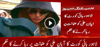 Model Ayyan Ali bailed by Lahore High Court