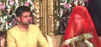 Ahmed Shahzad Wedding pictures
